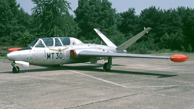 MT-30 - Fouga CM-170 Magister - Belgium - Air Force
