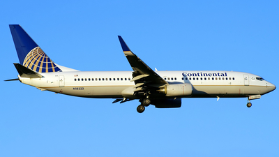 N18223 - Boeing 737-824 - Continental Airlines