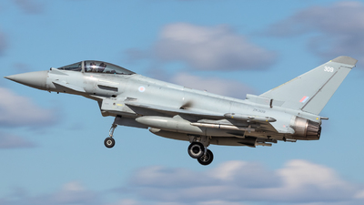 A picture of ZK309 - Eurofighter Typhoon FGR4 -  - © James Dinsdale