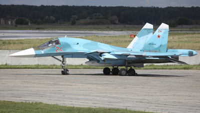 RF-93817 - Sukhoi Su-34 Fullback - Russia - Air Force