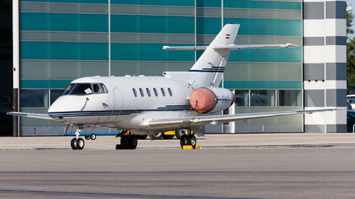 OE-GHU - Raytheon Hawker 800XP - Goldeck Flug