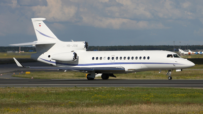 HB-JSM - Dassault Falcon 7X - Jet Aviation Business Jets
