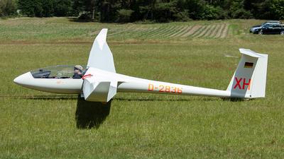 D-2836 - Rolladen Schneider LS-8 - Private