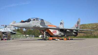 4105 - Mikoyan-Gurevich MiG-29GT Fulcrum - Poland - Air Force
