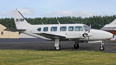 ZK-FOP - Piper PA-31-350 Navajo Chieftain - Great Barrier Airlines