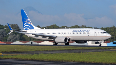 A picture of HP1840CMP - Boeing 7378V3 - Copa Airlines - © Daniel Hernández J.