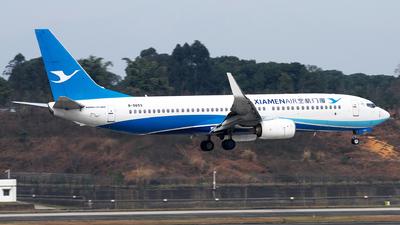 A picture of B5653 - Boeing 73785C - Xiamen Air - © baobao723