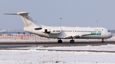 A picture of UPF1018 - Fokker 100 - Bek Air - © Yerbol