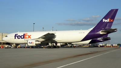 A picture of N740FD - Airbus A300B4622R(F) - FedEx - © Agustin Anaya