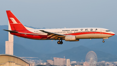 A picture of B2167 - Boeing 7378Q8 - [30631] - © K. O.