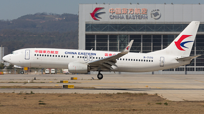 B-7170 - Boeing 737-89P - China Eastern Airlines