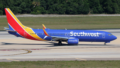 N8513F - Boeing 737-8H4 - Southwest Airlines