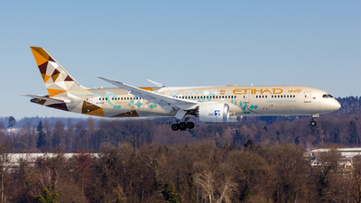 A6-BLN - Boeing 787-9 Dreamliner - Etihad Airways