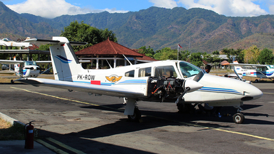 PK-ROW - Piper PA-44-180T Turbo Seminole - Bali International Flight Academy