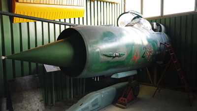438 - Mikoyan-Gurevich MiG-21M Fishbed J - German Democratic Republic - Air Force