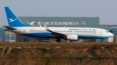 A picture of B5551 - Boeing 73784P - Xiamen Air - © Aaron_ZSAM