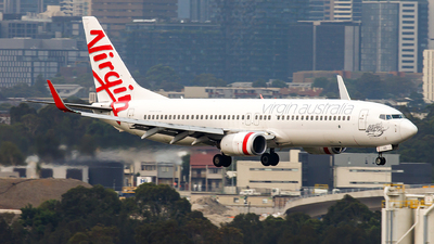 A picture of VHVUG - Boeing 7378FE - Virgin Australia - © James Rowson