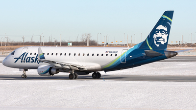 A picture of N636QX - Embraer E175LR - Alaska Airlines - © Mike MacKinnon