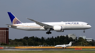 N35953 - Boeing 787-9 Dreamliner - United Airlines