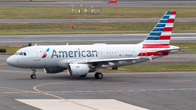 A picture of N712US - Airbus A319112 - American Airlines - © Bora Polater