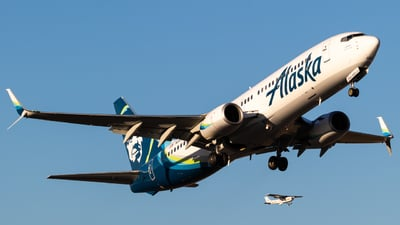 A picture of N565AS - Boeing 737890 - Alaska Airlines - © Alex Crail