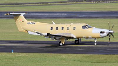 A picture of HBFRW - Pilatus PC12/47E - [1707] - © Ian Howat