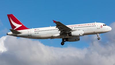 B-HSK - Airbus A320-232 - Cathay Dragon