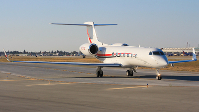 N897NC - Gulfstream G550 - Private