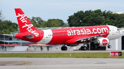 A picture of 9MAJY - Airbus A320216 - AirAsia - © Kody Chin