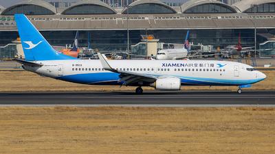 A picture of B5533 - Boeing 73785C - Xiamen Air - © ZHANG Yu-hui