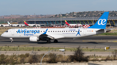 EC-KRJ - Embraer 190-200LR - Air Europa Express