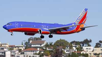 A picture of N8646B - Boeing 7378H4 - Southwest Airlines - © Jeremy D. Dando