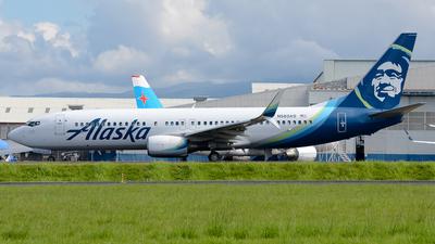 A picture of N583AS - Boeing 737890 - Alaska Airlines - © RAFAEL FERNANDEZ ABARCA