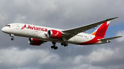 A picture of N783AV - Boeing 7878 Dreamliner - Avianca - © Halsey