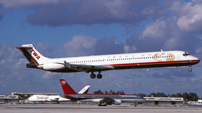 N9304C - McDonnell Douglas MD-83 - Trans World Airlines (TWA)