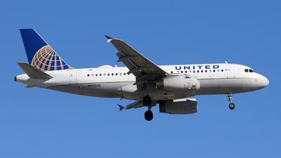 N853UA - Airbus A319-131 - United Airlines