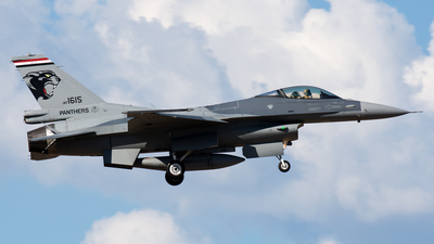 1615 - Lockheed Martin F-16CJ Fighting Falcon - Iraq - Air Force