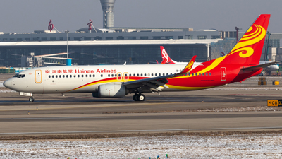 B-6060 - Boeing 737-84P - Hainan Airlines