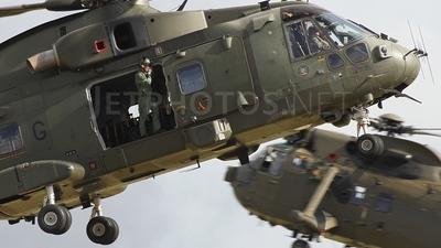 ZJ123 - Agusta-Westland Merlin HC.3 - United Kingdom - Royal Air Force (RAF)