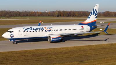 TC-SOC - Boeing 737-8HC - SunExpress