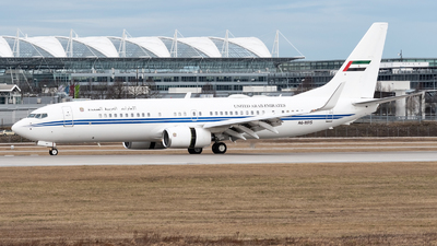 A6-MRS - Boeing 737-8E0 (BBJ2) - United Arab Emirates - Dubai Air Wing