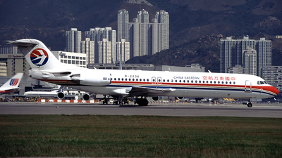 B-2238 - Fokker 100 - China Eastern Airlines