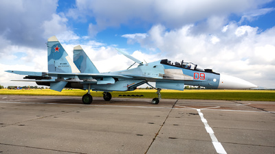 RF-93655 - Sukhoi Su-30SM - Russia - Air Force
