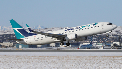 A picture of CGYSD - Boeing 7378CT - WestJet - © GN