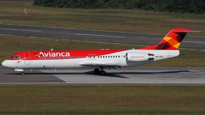 PR-OAJ - Fokker 100 - Avianca Brasil