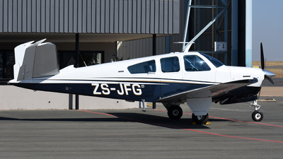 ZS-JFG - Beechcraft V35B Bonanza - Private