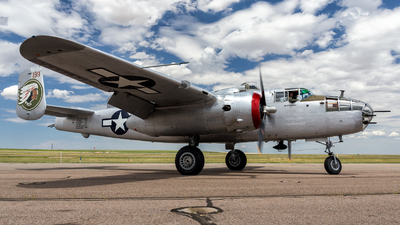 N9117Z - North American B-25J Mitchell - Private