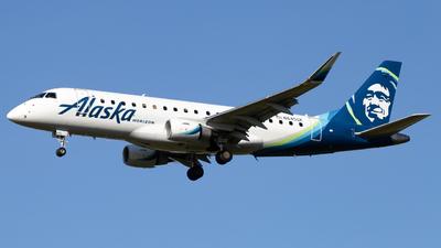 A picture of N645QX - Embraer E175LR - Alaska Airlines - © John Marzo