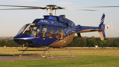 ZS-ROE - Bell 407 - Private