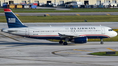 N676AW - Airbus A320-232 - US Airways